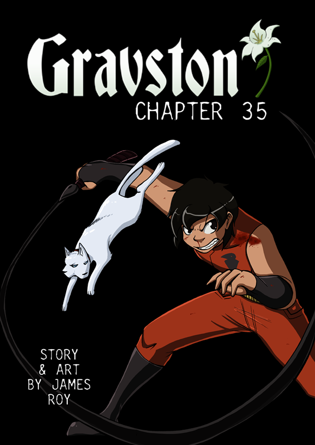 Gravston Chapter 35 Cover by Rogo-the-Golden-Boy