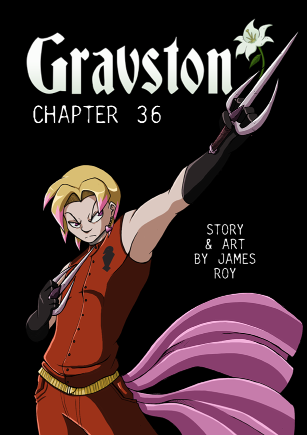 Gravston Chapter 36 Cover by Rogo-the-Golden-Boy