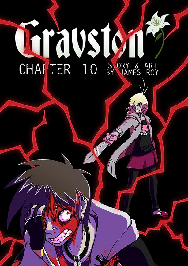 Gravston Chapter 10 Cover by Rogo-the-Golden-Boy