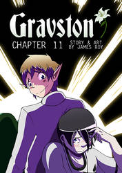 Gravston Chapter 11 Cover by Rogo-the-Golden-Boy