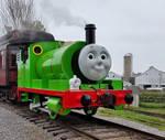 The Percy Engine at Strasburg Railroad