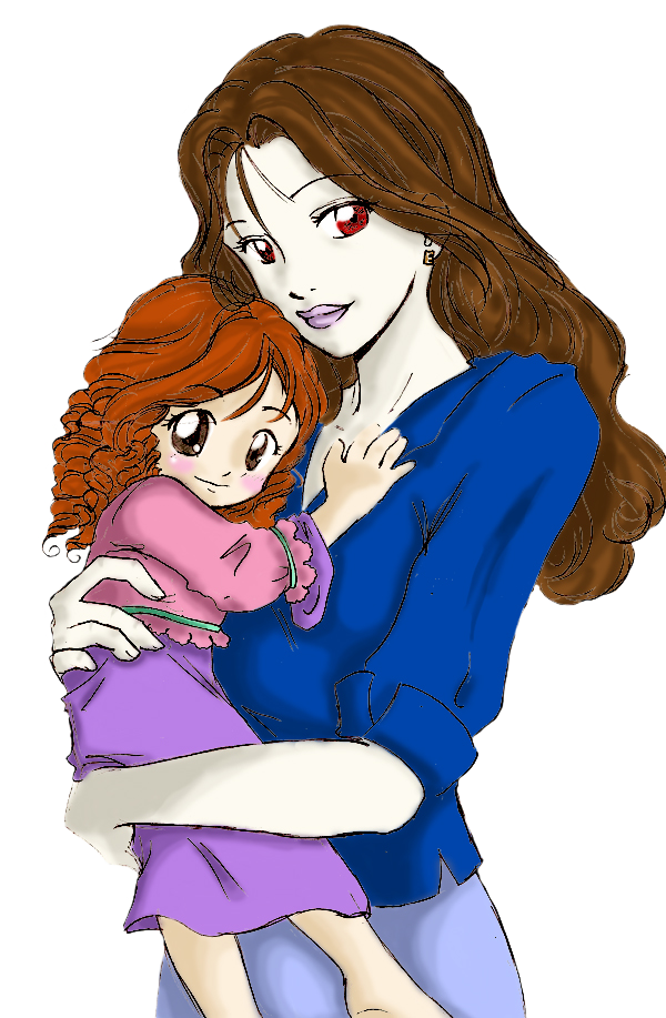 Bella and Renesmee by SailorRainbowKaggy