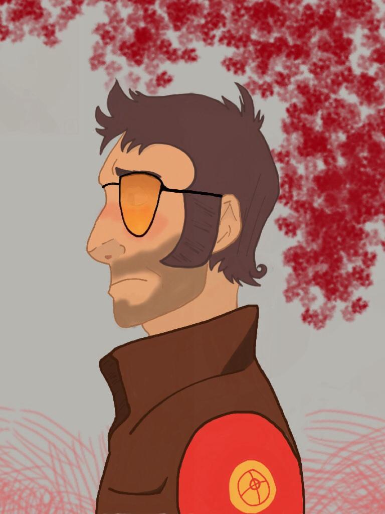 Red Sniper by DevilMonster18