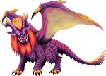 Monster Hunter Pixel - Teostra