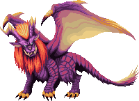 Monster Hunter Pixel - Teostra by KucingBudhug