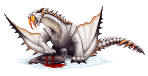 Monster Hunter Pixel - Barioth