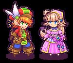 Chibi Pixel Characters