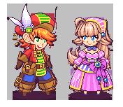 Chibi Pixel Characters by KucingBudhug