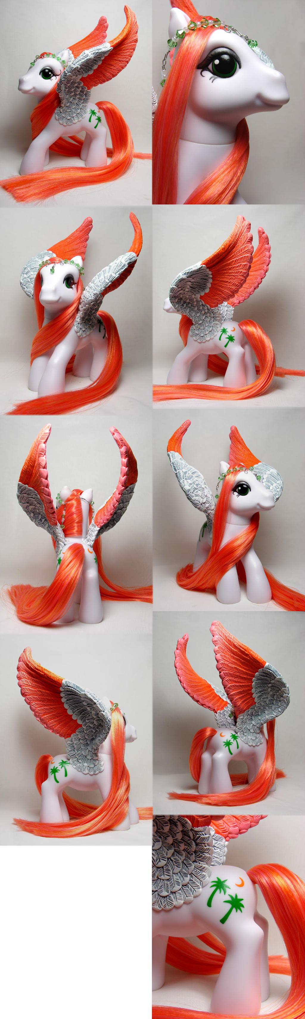 G3 Paradise pegasus pony by Woosie