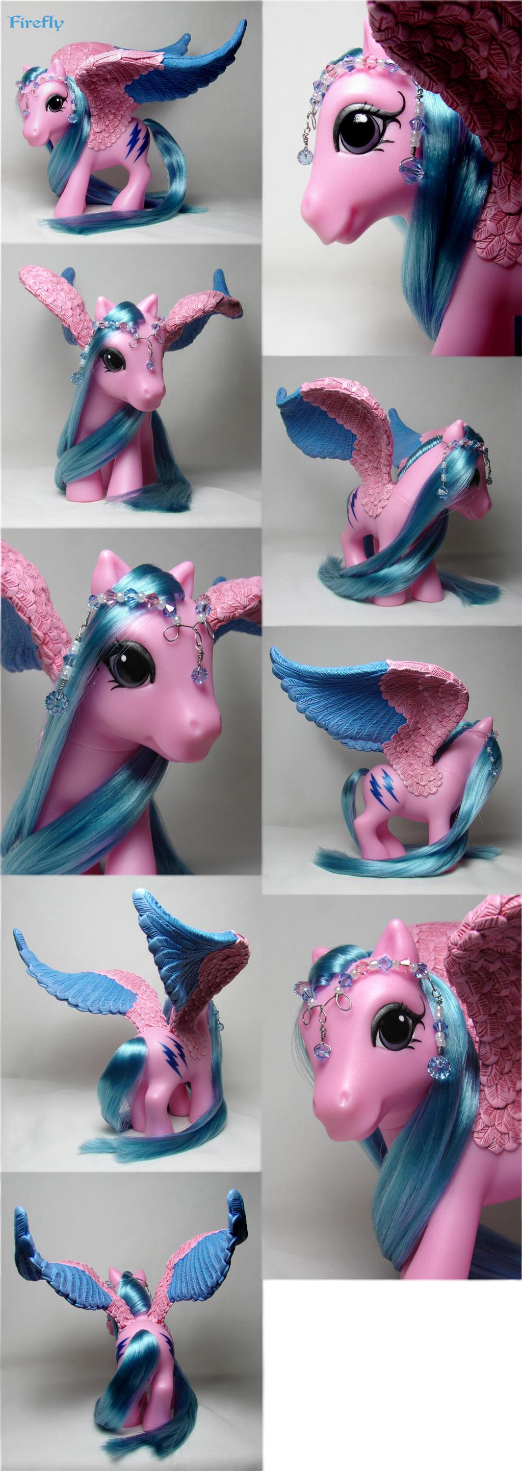Firefly G3 pegasus pony by Woosie