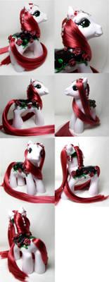 Rose merry go round pony
