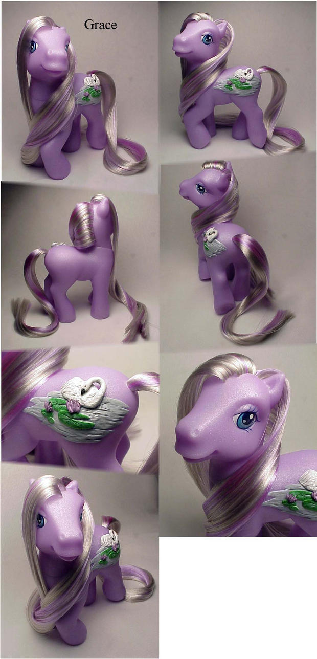 Grace little pony custom by Woosie