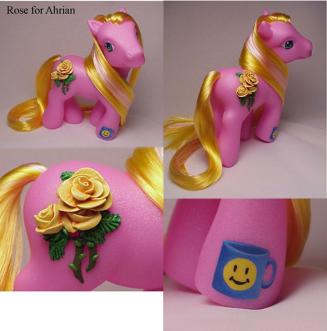 Yellow Rose custom pony by Woosie