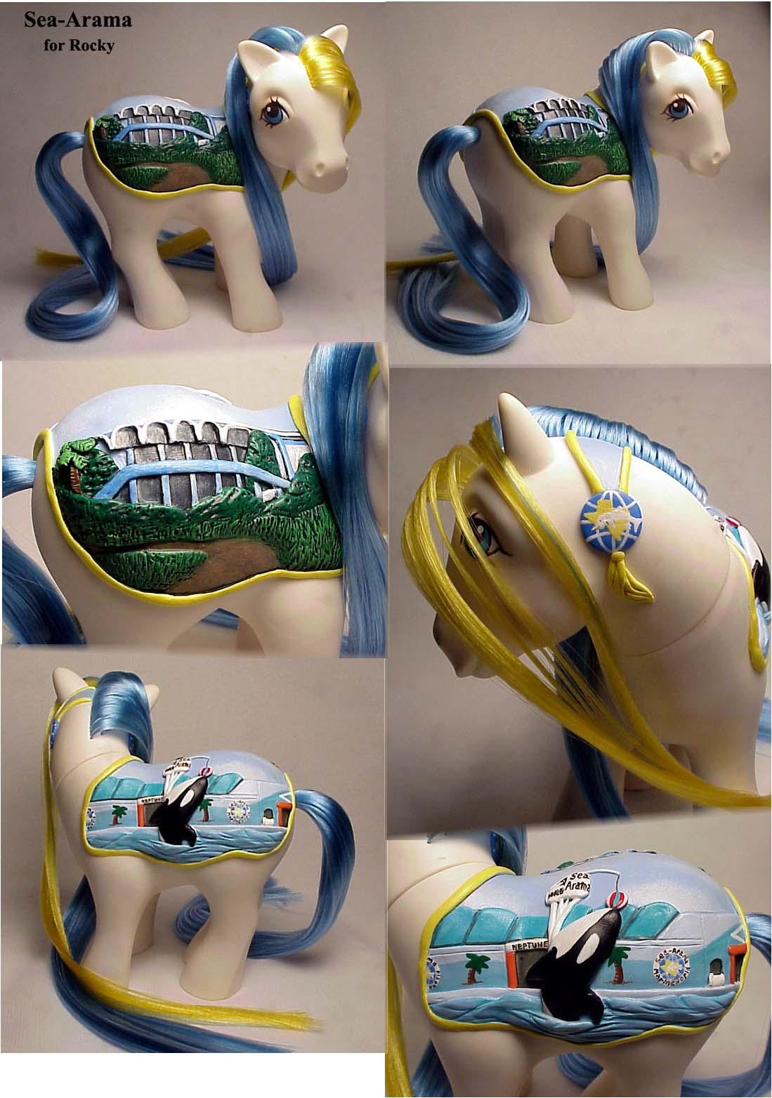 Sea Arama pony custom by Woosie