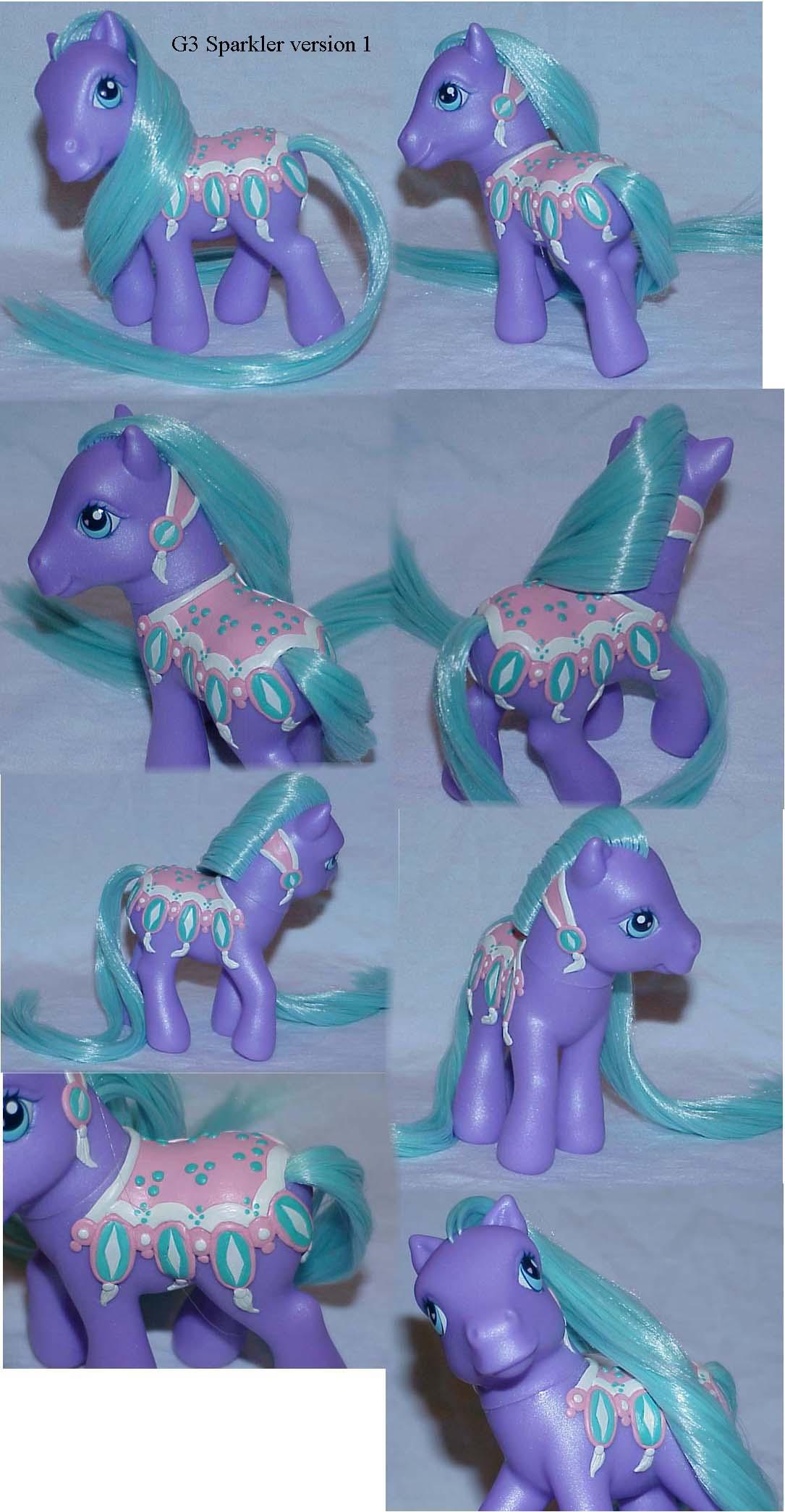 Sparkler merry go round pony by Woosie