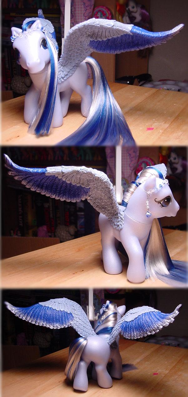 blue pegasus WIP v. 3 by Woosie