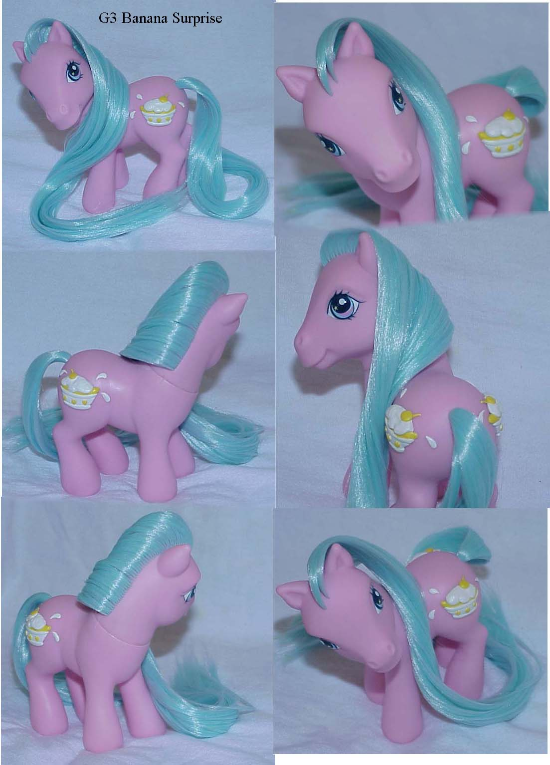 Banana Surprise custom pony by Woosie
