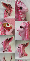 Radiant Raspberry custom pony