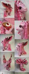 Radiant Raspberry custom pony by Woosie
