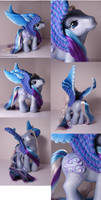 Blu_clouds Pegasus pony by Woosie