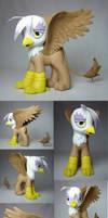 Gilda the Griffon my little pony FIM custom