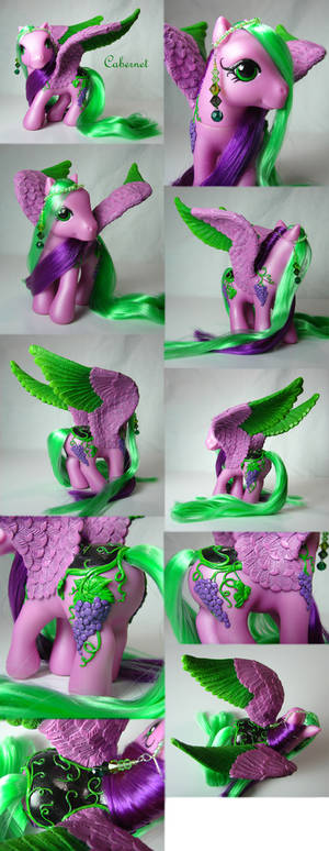 Cabernet the pegasus pony