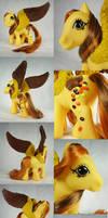 Peanut Butter Princess custom pegasus