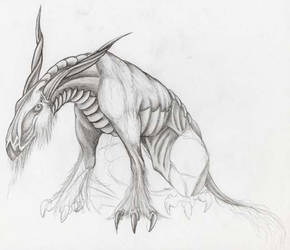 Dragon v.3 WIP by Woosie