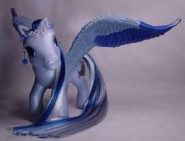 Stormy's Awakening little pony by Woosie