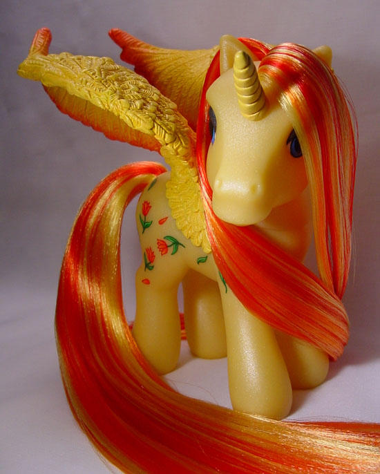 Lady Tulip little pony by Woosie