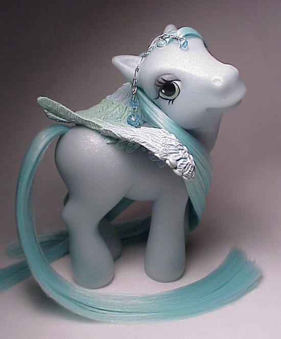 Moonrise pegasus little pony by Woosie