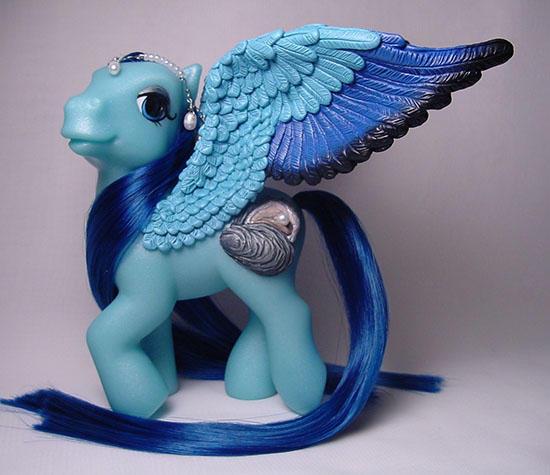 Precious Pearl pegasus pony by Woosie