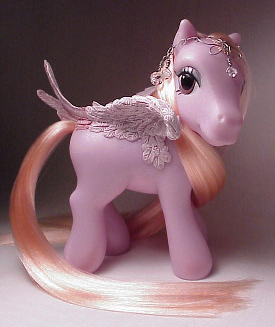 Sunset pegasus pony by Woosie