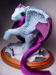 Wistful Winter pegasus pony by Woosie