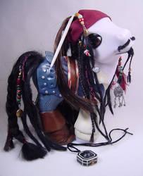 Capn' Jack Sparrow pony by Woosie