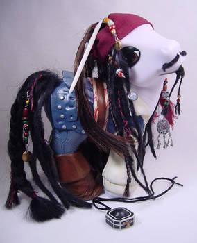 Capn' Jack Sparrow pony