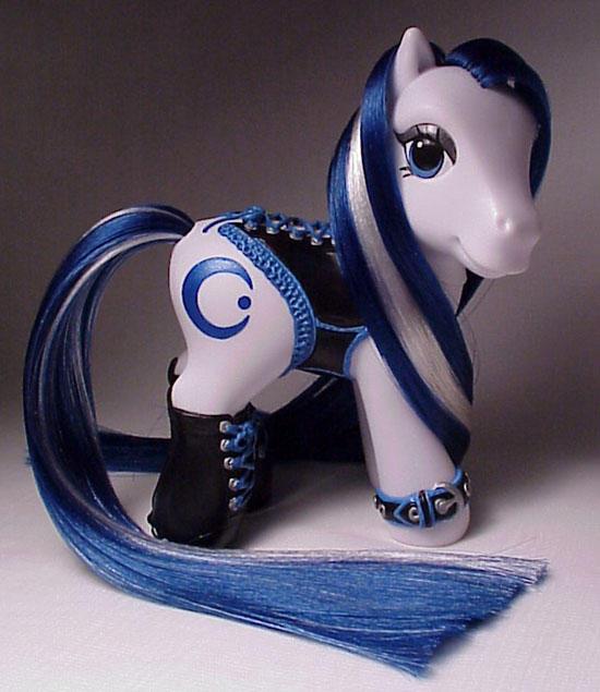 Corset pony for Aquariousmoon by Woosie