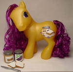 Jelly Curl little pony