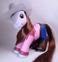 Cowgirl little pony for Kelly by Woosie