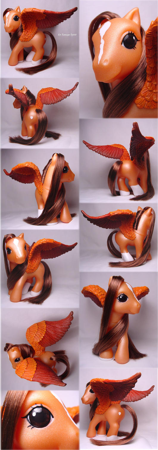 Pegasus Pony for Savage Spirit by Woosie