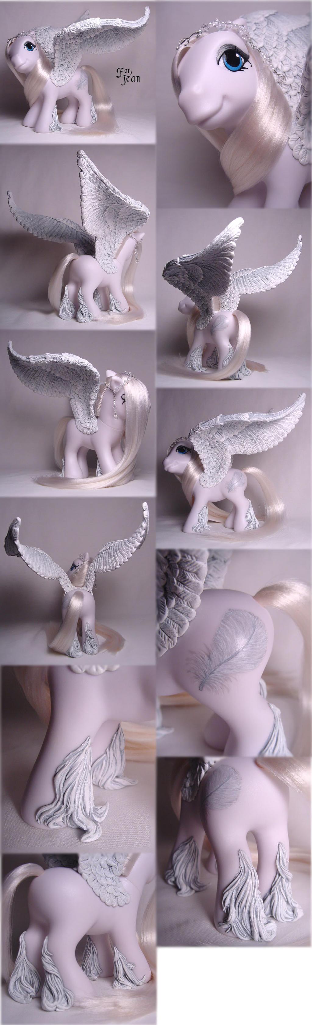 White Pegasus for Jean by Woosie