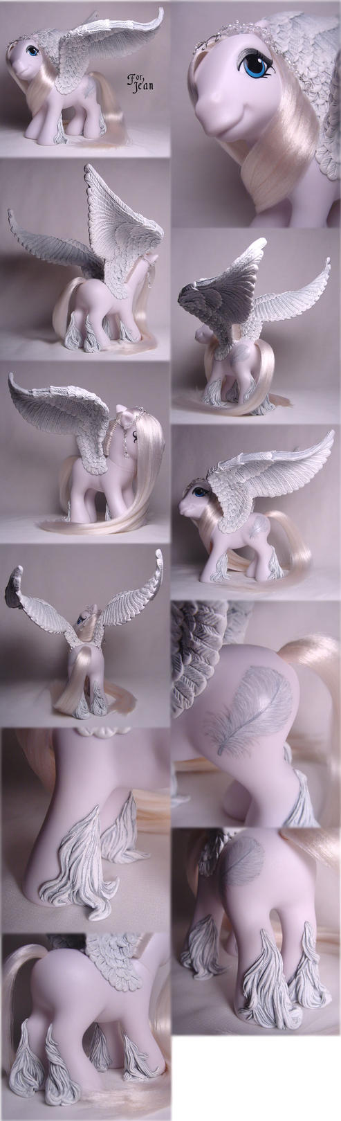 White Pegasus for Jean by Woosie