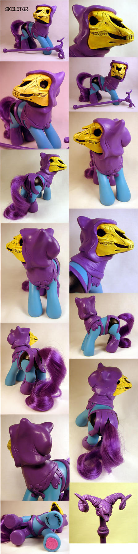My Little...Skeletor? by Woosie