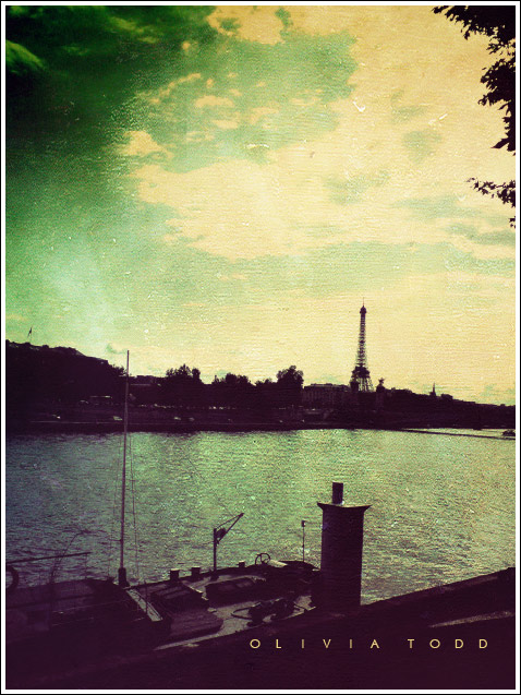 across the river lies paris. by goldenanchor