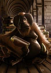 The Librarian - Discworld.