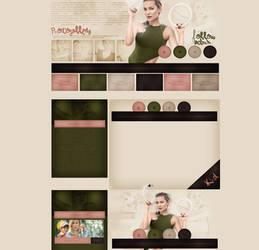 free design ft.Kate Hudson by mosbiusdesigns