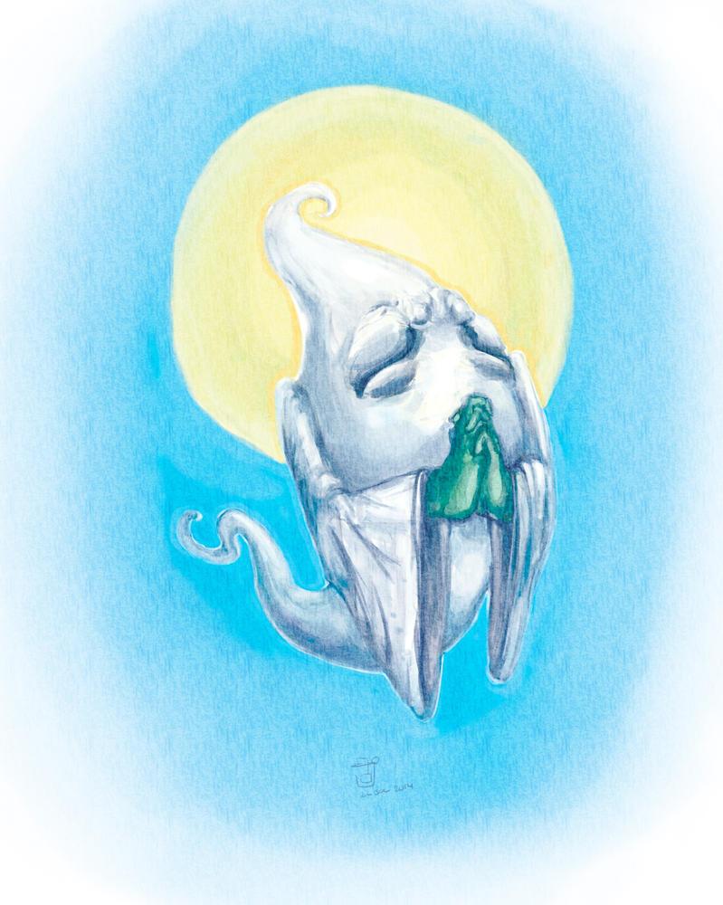 Spirits of Gaia: Ghost by bandanana