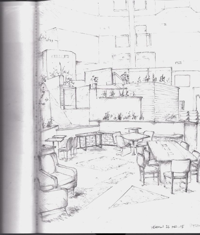 Crown Plaza Lobby by bandanana