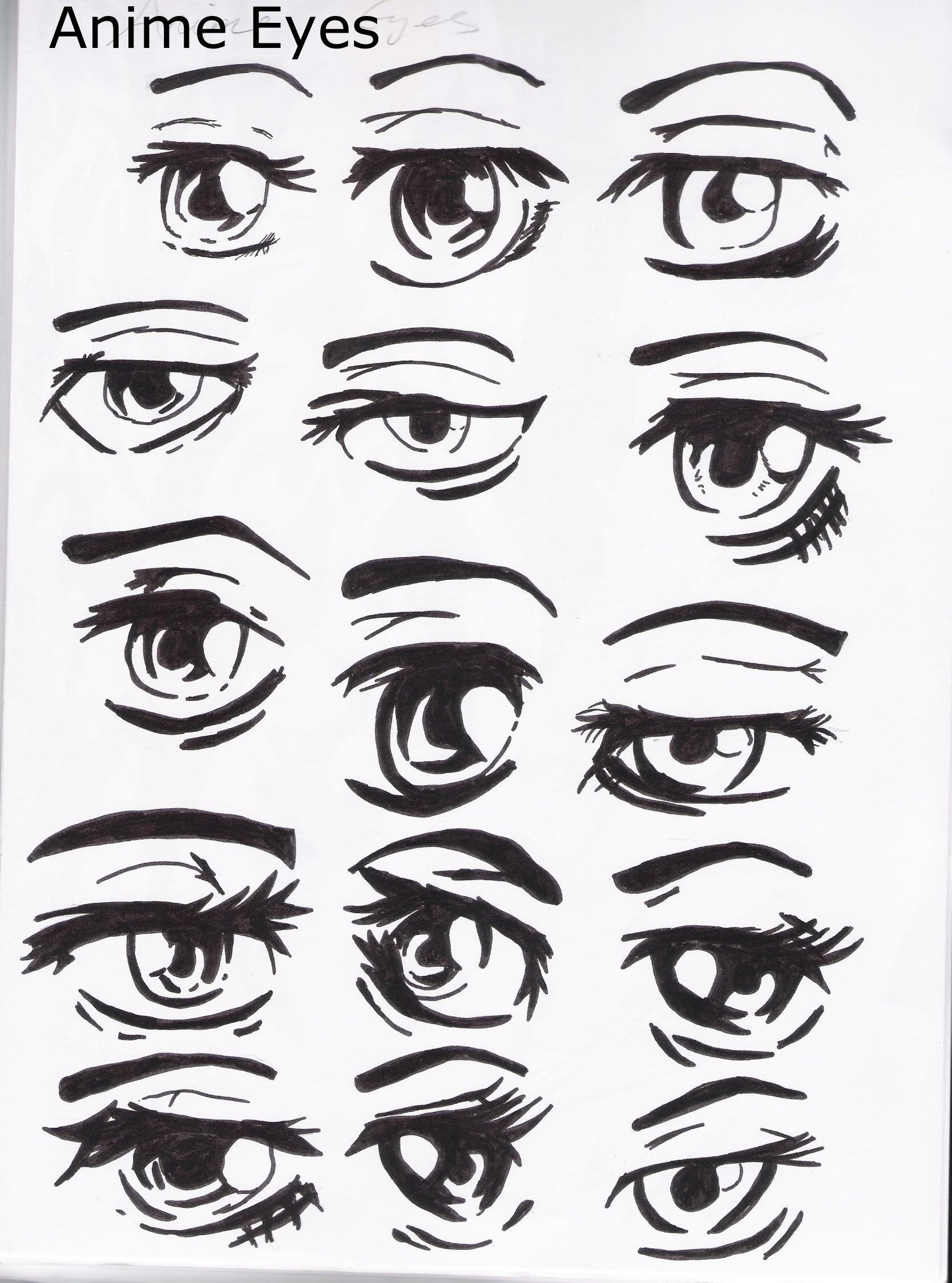 Anime Eyes By Becksbeck