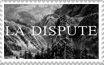 La Dispute stamp by becksbeck